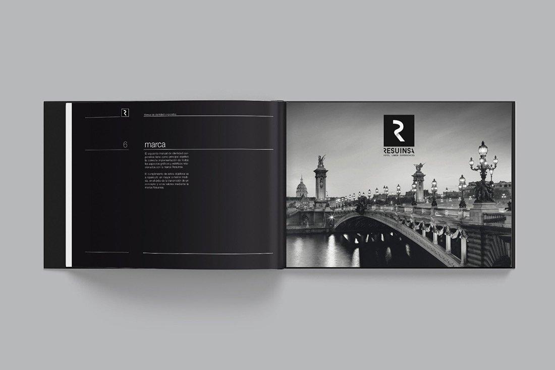 Diseño de marca Valencia. Resuinsa