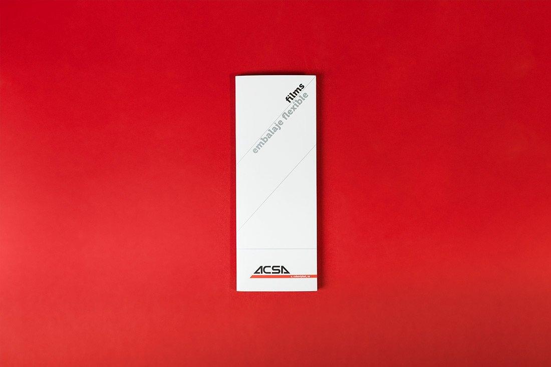 Diseño catalogo Ontinyent ACSA FILMS