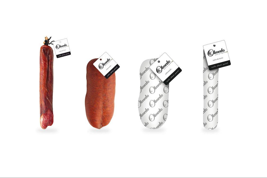 Diseño packaging Xativa. Ibéricos Olmedo