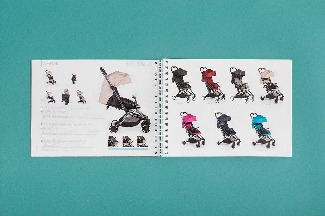diseño catalogo puericultura Innovaciones MS