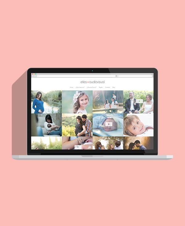 Diseño web l'Olleria Elles Audiovisual