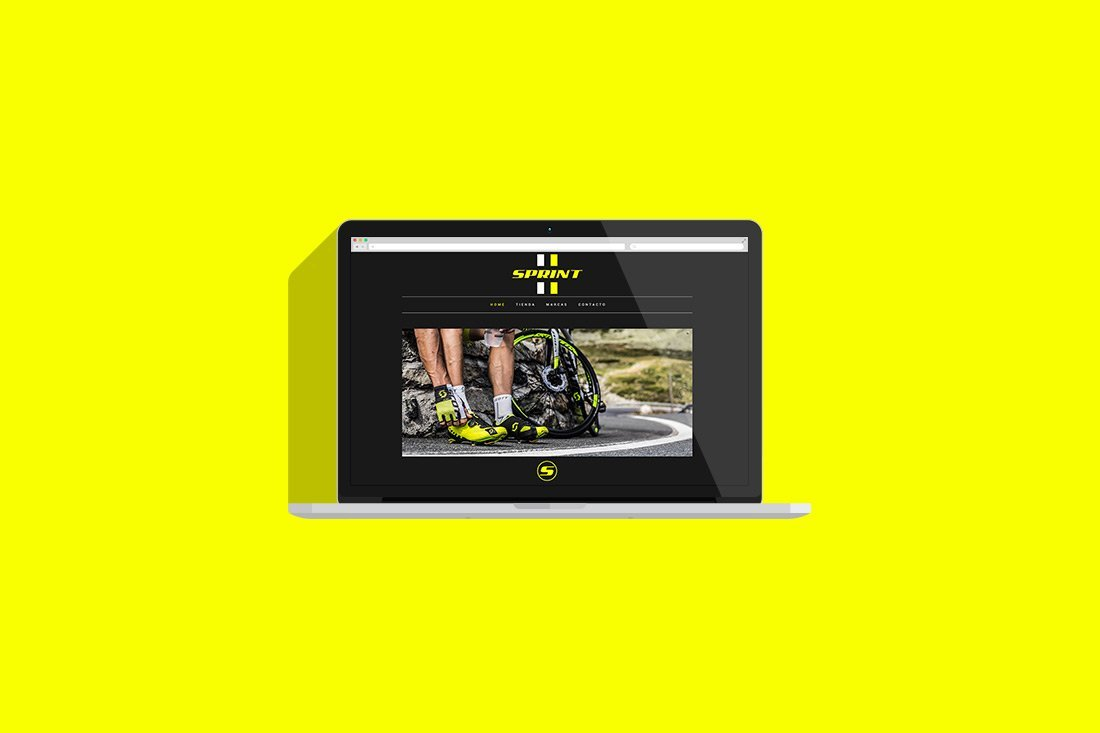 diseño web Xativa | Sprint Bikes